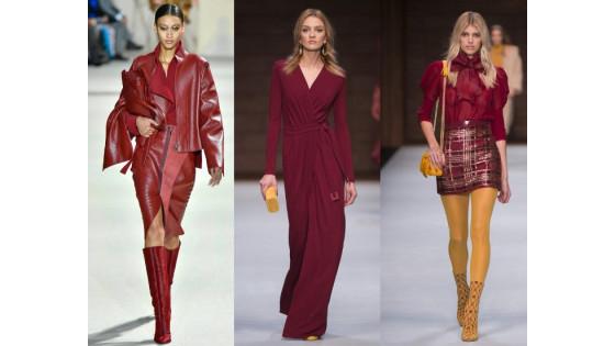 Модные цвета осенне-зимнего сезона