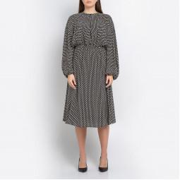 Платье ALYSI 159386A9256 чер квадрат