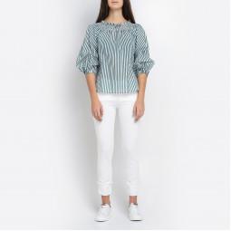 Блуза Ki6? 40R CM22 зел пол