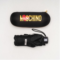 Зонт складной Moschino 8020superminiA чер