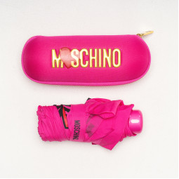 Зонт складной Moschino 8020superminiJ роз