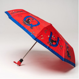 Зонт автомат Moschino 7070opencloseC кр/син