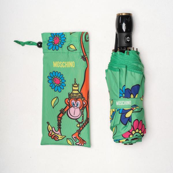 Зонт автомат Moschino 8261opencloseM зел
