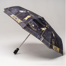 Зонт автомат Moschino 8038OpencloseA чер