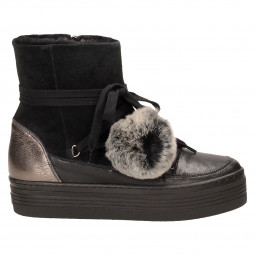 Ботинки Mally 5991 к.+з.ч.,мех