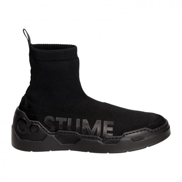 Ботинки Costume National 6012чер/чер надп