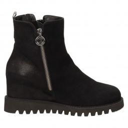 Ботинки Renzoni 2836м замш чёр