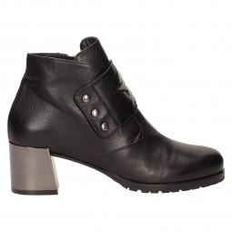 Ботинки Mara 522кож чер