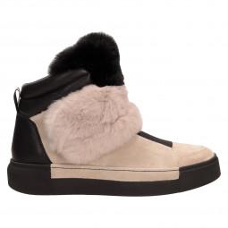 Ботинки Vic Matie 6708-402/101/101беж/чер под