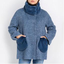 Пальто Carla Vi 438-50син