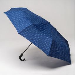 Зонт автомат Moschino 8505TOPLESS F син