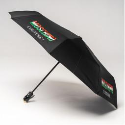 Зонт автомат Moschino 8015OPENCLOSE A чер