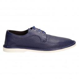 Туфли Pollini 10622-750син кож