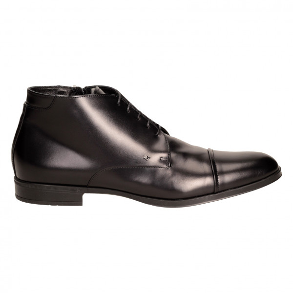 Ботинки Lucaguerrini 9196м чер кож