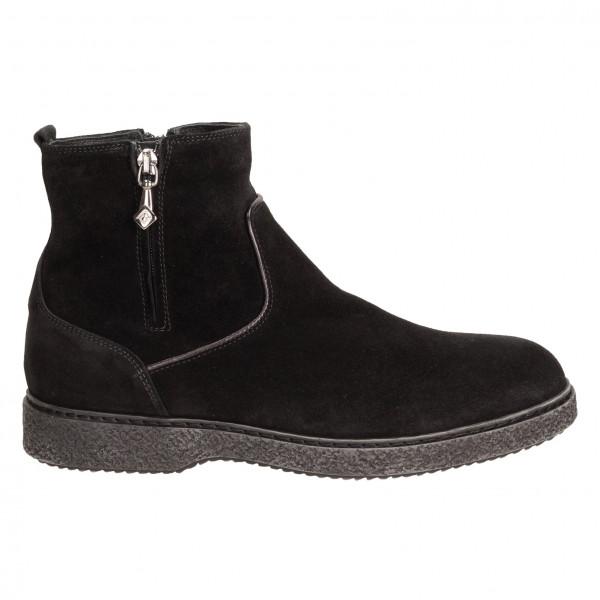 Ботинки Lucaguerrini 9246м замш чер