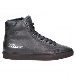 Ботинки John Galliano 5633м кож син