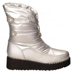 Ботинки City Beauty 115-10м серебро