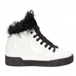 Ботинки Deenoor 106-2-5м бел лак