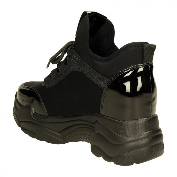 Ботинки Vikonty 8728-2чер/фиол