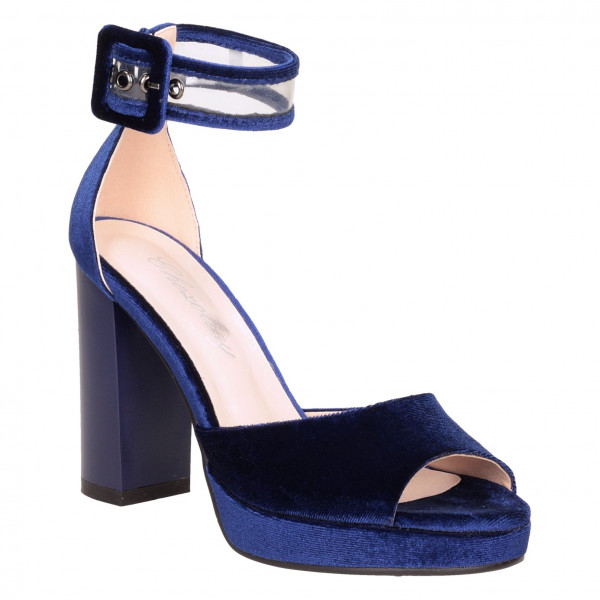 Босоножки Cheroliny 2097-02 синие