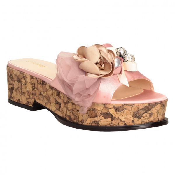 Сабо Spagna 610-861-1 розовые